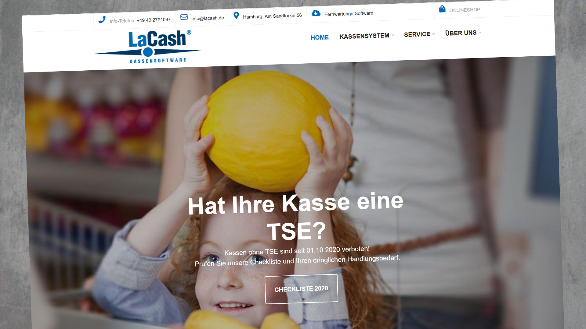 LaCash Webseite Relaunch